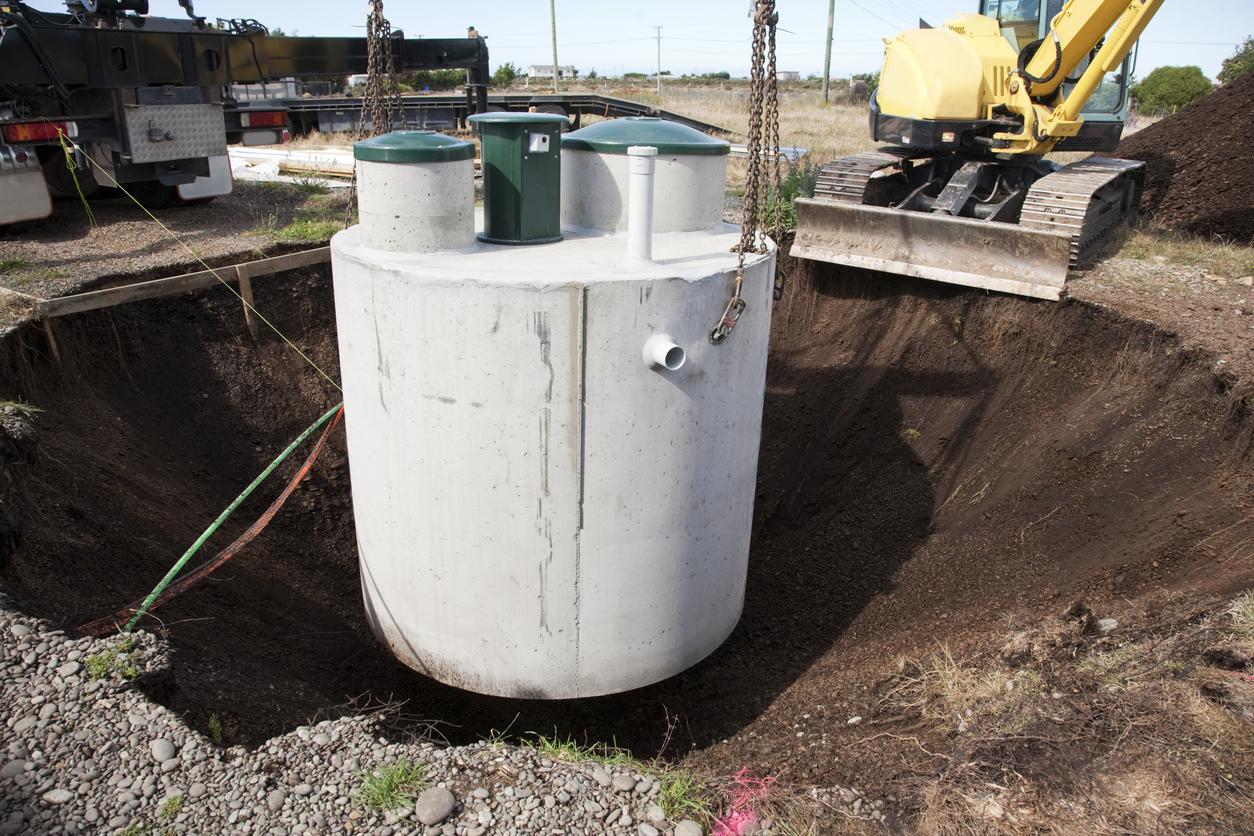 Septic Tank System Installaltion